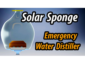 Solar Sponge Emergency Water Distiller