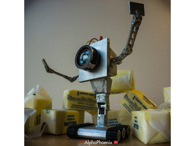 rick and morty butter bot by alphaphoenix thingiverse