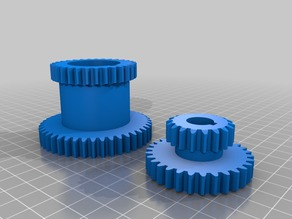 Hi - Low gears for metal mini lathe