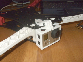 GoPro Hero 3 Mount For Spyda 500 Quadcopter