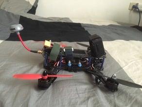 sj4000 camera tilts holder for 250 size quadcopter