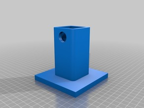 Trailer Hitch Cover, Parametric with optional text