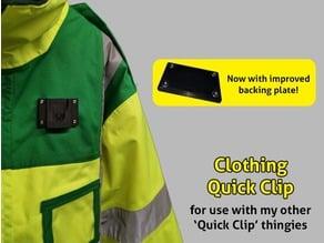 Clothing Quick Clip