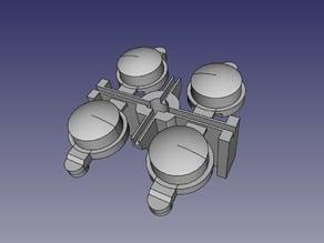 Korg M1 buttons