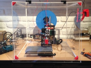 Woody - PrintrBot Simple Acrylic enclosure