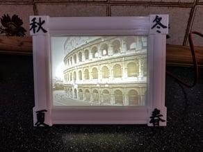 Japanese Frame For My Light Box