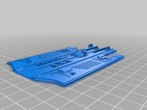 Axial SCX10 Rear Chassis Rail cover