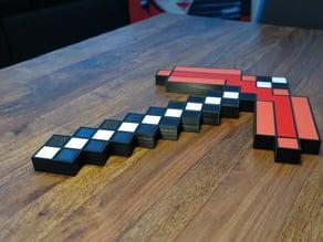 Minecraft Pickaxe XXL