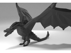 Low poly Drogon