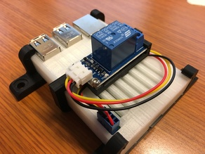 Relay Housing for Raspberry Pi