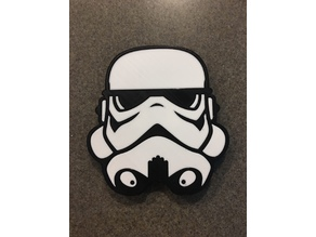 Storm Trooper receiver hitch cover