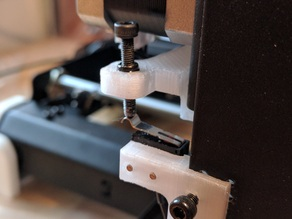 Wanhao i3 plunge_mount for 3mm adjustment screw with fixed nut