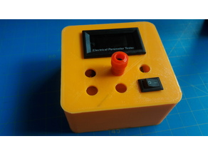 Enclosure for Electronic Parameter Tester