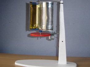 Éolienne Verticale à vitesse régulée - Wind turbine