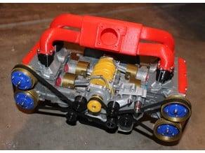 Subaru EJ20 Cutaway model