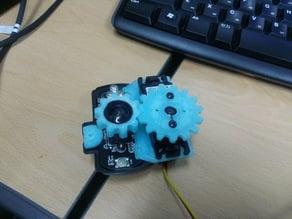 webcam autofocus gears