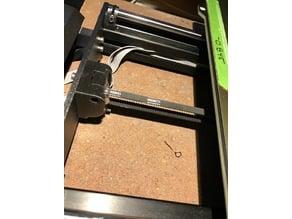Belt Tensioner for 5mm Gates Idler with adjusted belt path.
