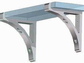 Shelf-Bracket for 70mm x 10mm Board