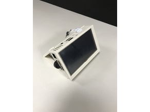 """Raspberry pi case for elecrow 5"""" tft screen"""