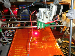 Aixiz laser module holder for MGS extruder