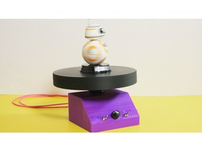 DIY Motorized Turntable for Photo & Video