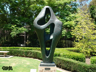 Figure for Landscape by Barbara Hepworth, 1960