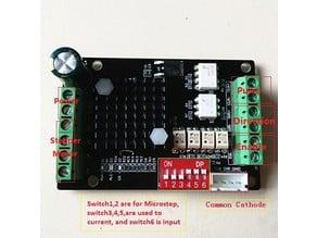 3030 MKS stepper driver mount. hypercube evoution