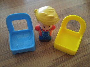 fisher price little people chair