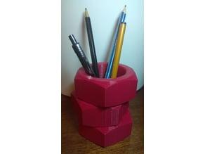 """Engineering"" pen stand"