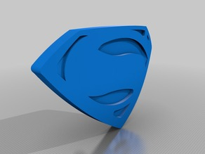 Full Scale Superman Shield