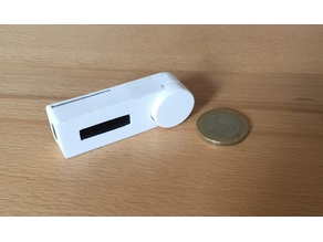 ESP 8266 OLED Smart Button