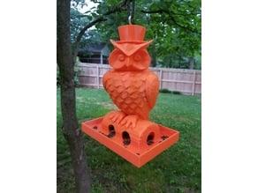 Owl Birdfeeder