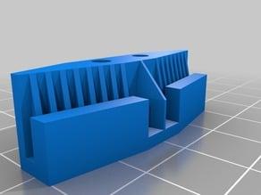 Belt clamper for 3D-SPrinter