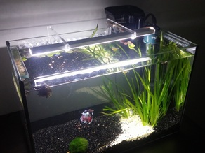 Fish tank led light holder