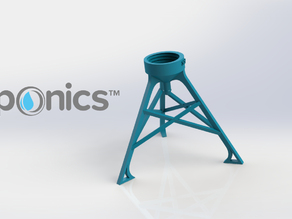 Bottle Stand - 3Dponics Non-Circulating Hydroponics