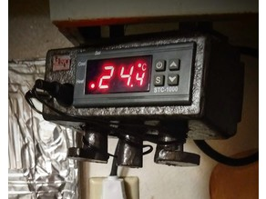 Built-in undercounter (or stand-alone) Sous Vide/temperature controller (STC-1000-based)