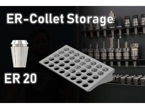 DIN-Rail Storage | ER20 Collets