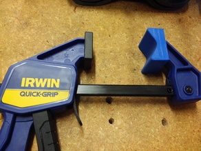 V block for Irwin quick-grip