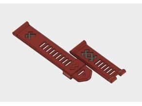Garmin Fenix3 wristband - Latvian symbols