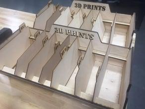 3D print box w/ dividers