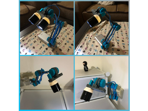 Portable USB LED lamp