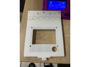 Hinged, Hooked, CR 10(S) LCD screen mount.