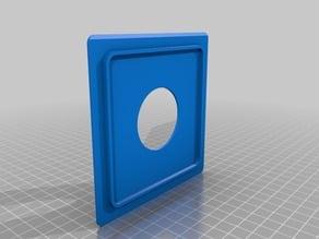 Toyo Field Camera 110mm Lens Board (Copal 1 Shutter Hole)