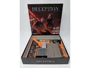 Deception Board Game Insert