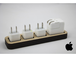 Apple Charger Dock (Laser Cut)