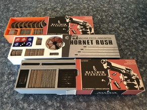 Resident Evil 2 Board Game Ammo Box Inserts