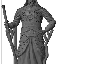 Yi Sun-sin - fixed and supported