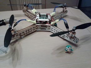 QUADCOPTER DRONE CUT LASER CO2