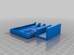Raspberry Pi Case w/ Mount for 10x10 Extrusion or CR-10 Front Rail