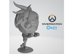 Tracer Overwatch Figurine - by Objoy Creation